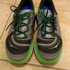 Hoka one one men's running shoes size 9.5